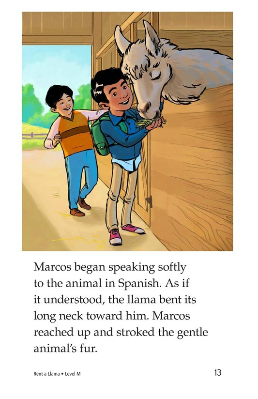 Book Preview For Rent a Llama Page 13