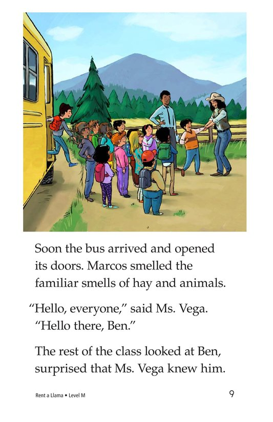 Book Preview For Rent a Llama Page 9
