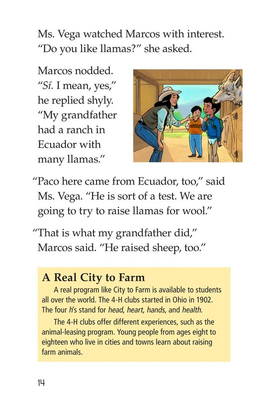 Book Preview For Rent a Llama Page 14