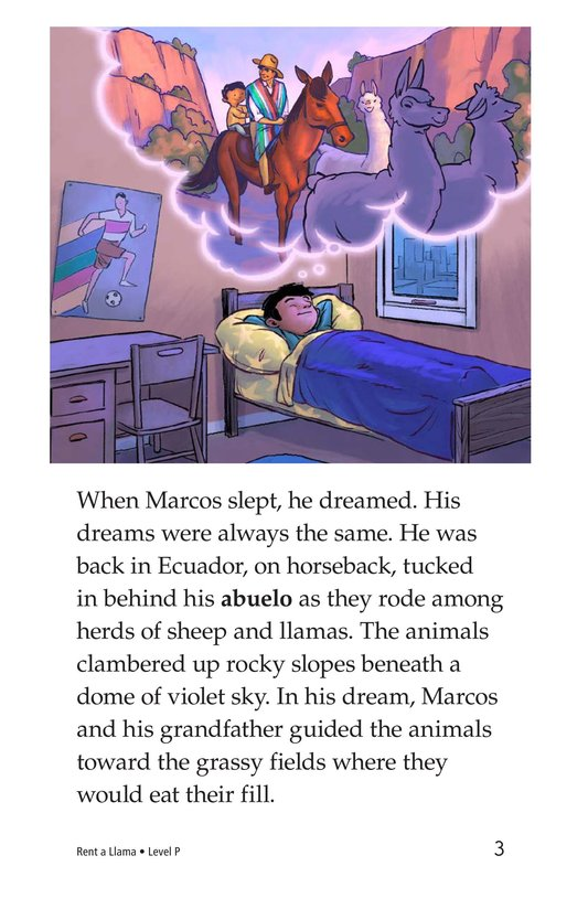 Book Preview For Rent a Llama Page 3