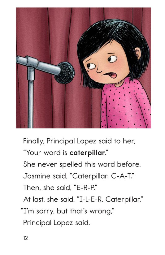 Book Preview For The Spelling Bee Page 12