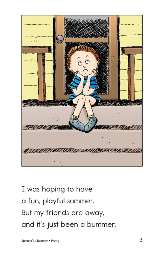 Book Preview For Summer's a Bummer Page 3