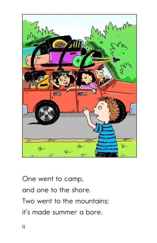 Book Preview For Summer's a Bummer Page 4