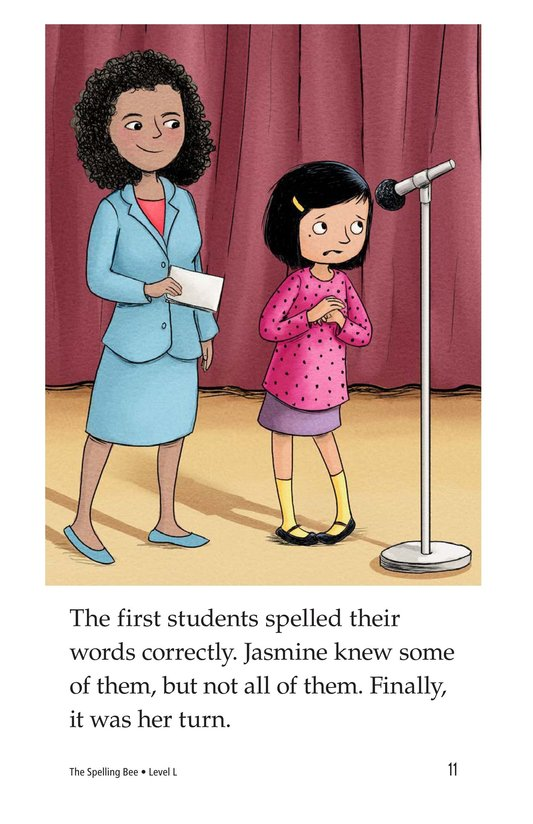 Book Preview For The Spelling Bee Page 11