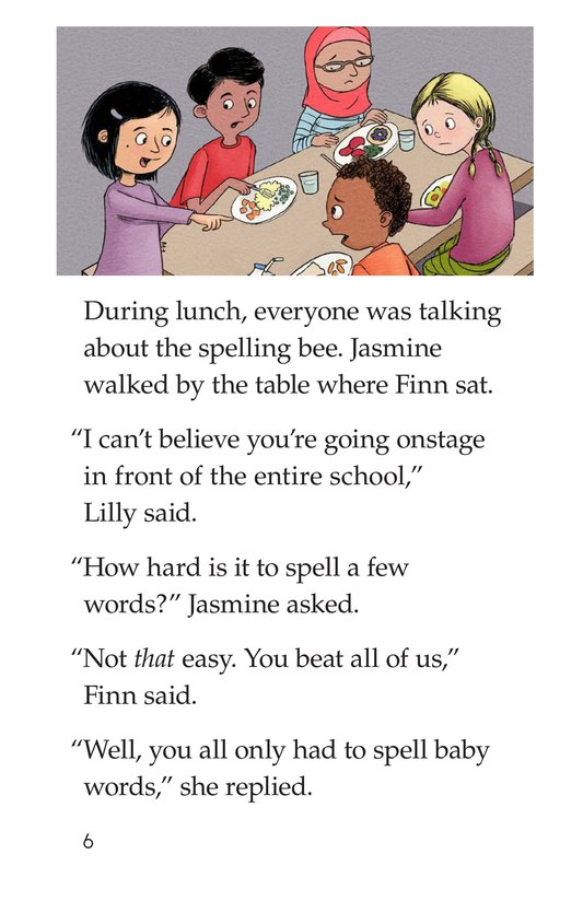 Book Preview For The Spelling Bee Page 6