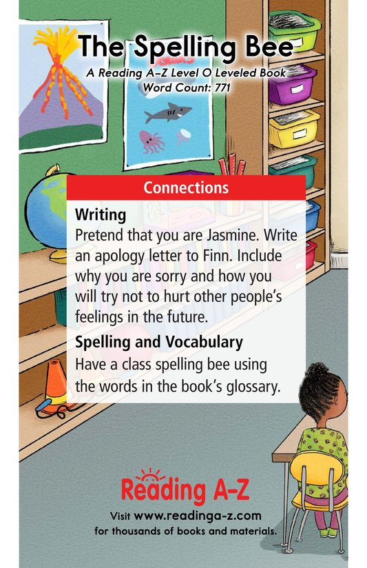 Book Preview For The Spelling Bee Page 17