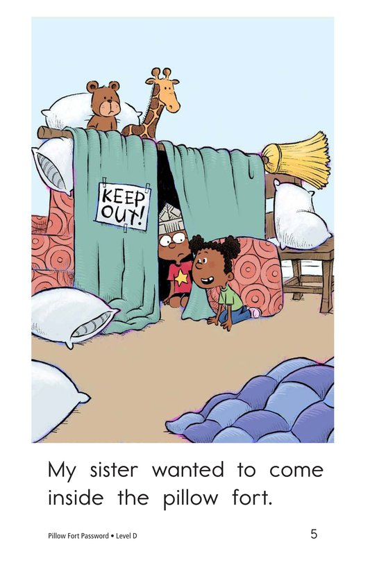 Book Preview For Pillow Fort Password Page 5