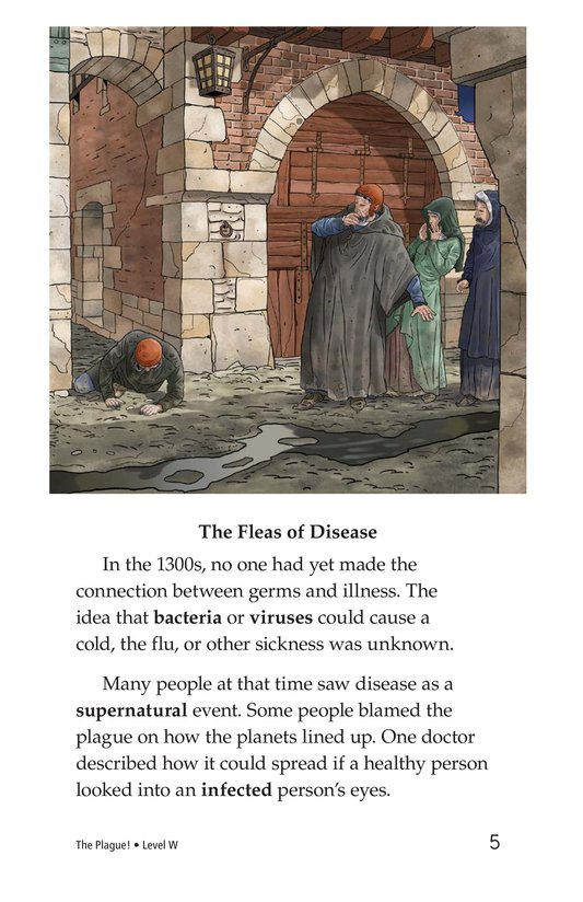 Book Preview For The Plague! Page 5