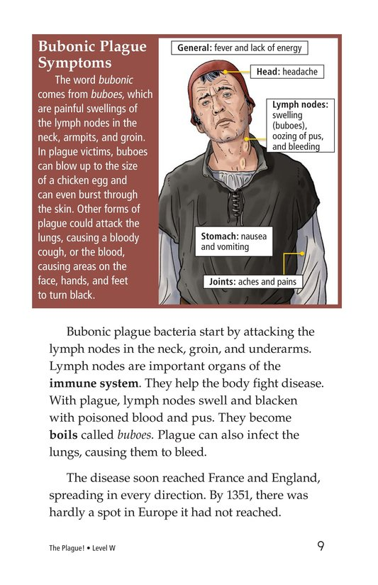 Book Preview For The Plague! Page 9