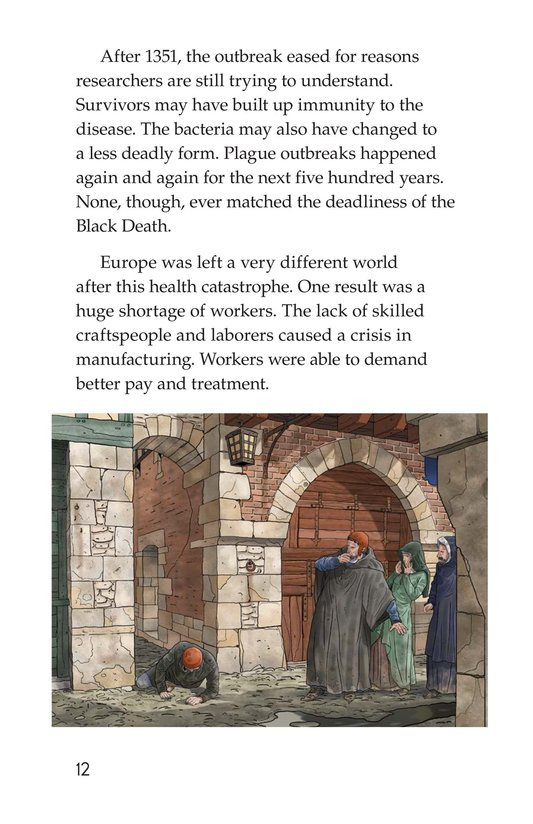 Book Preview For The Plague! Page 12