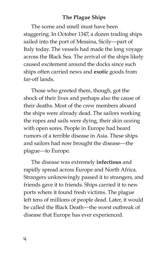 Book Preview For The Plague! Page 4