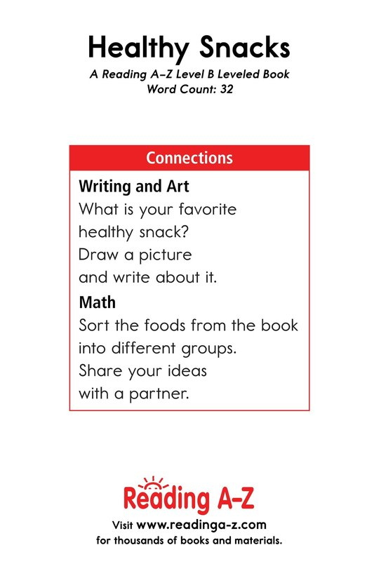 Book Preview For Healthy Snacks Page 11