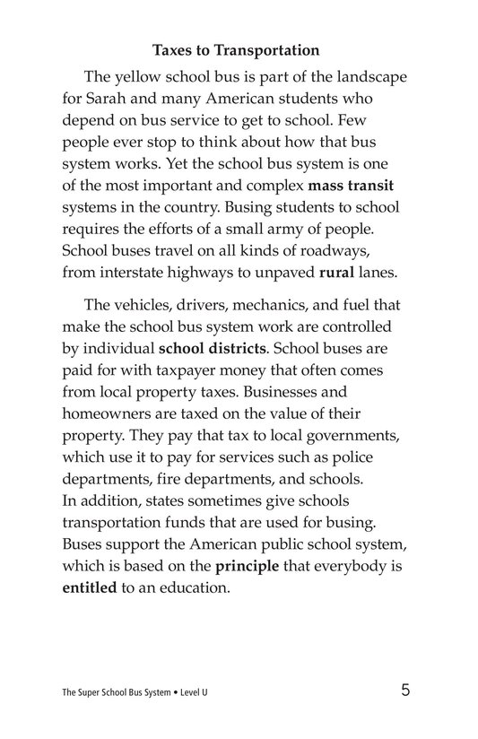Book Preview For The Super School Bus System Page 5