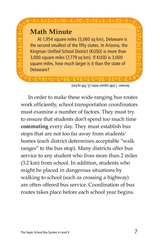 Book Preview For The Super School Bus System Page 7