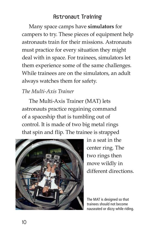 Book Preview For Space Camp Page 10