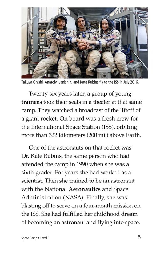 Book Preview For Space Camp Page 5