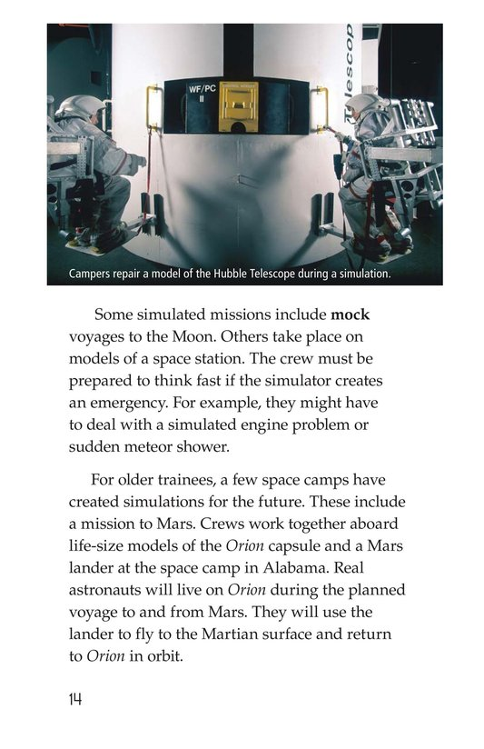 Book Preview For Space Camp Page 14