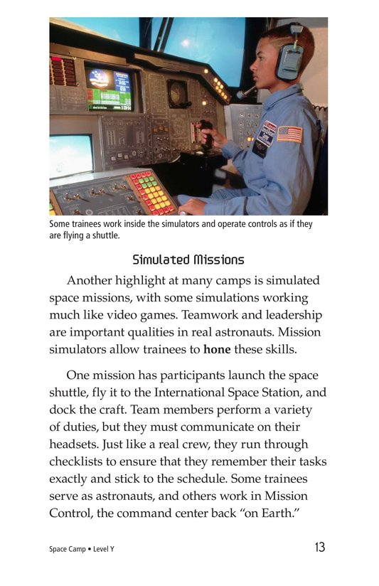Book Preview For Space Camp Page 13