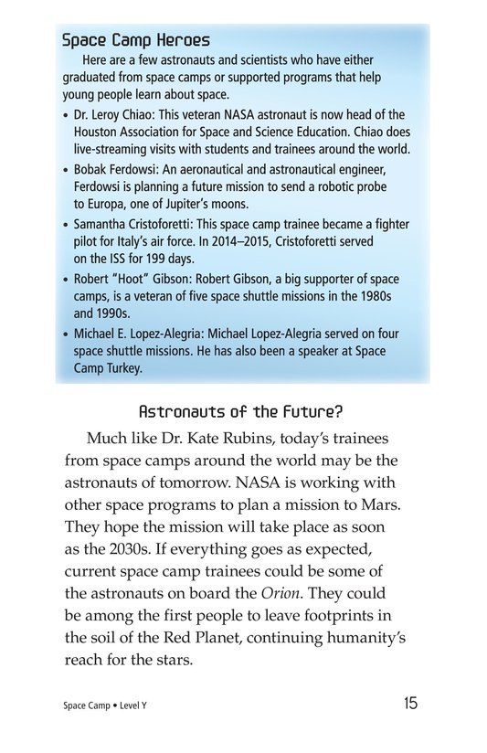 Book Preview For Space Camp Page 15
