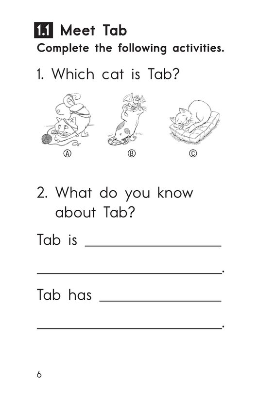 Book Preview For Decodable Passages Set 1 Book 1 Page 6