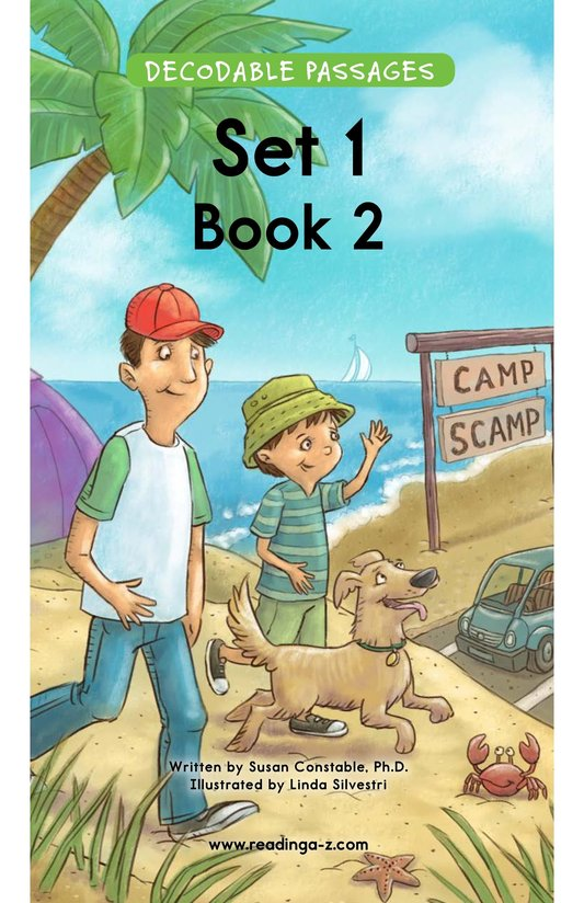 Book Preview For Decodable Passages Set 1 Book 2 Page 1
