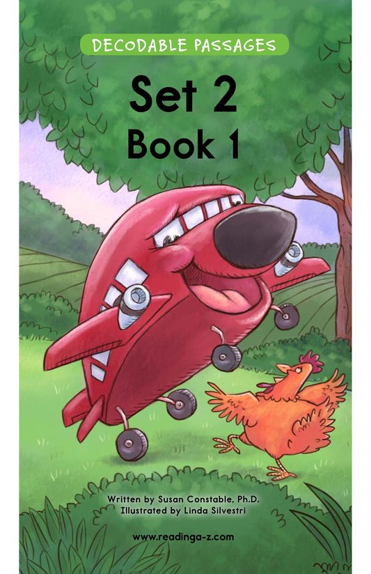 Book Preview For Decodable Passages Set 2 Book 1 Page 1