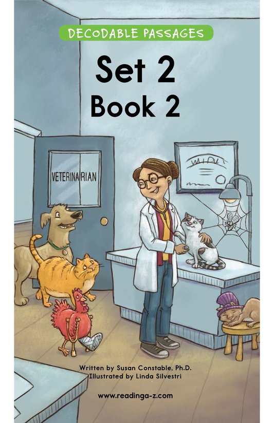 Book Preview For Decodable Passages Set 2 Book 2 Page 1