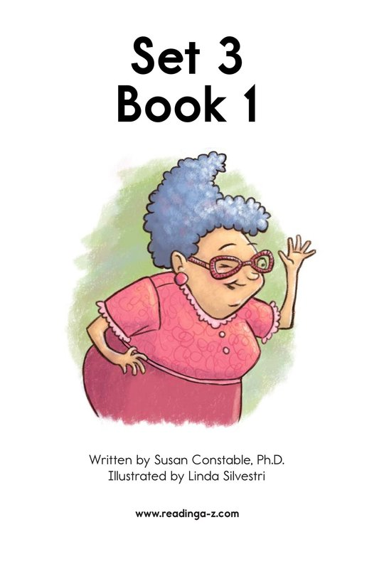 Book Preview For Decodable Passages Set 3 Book 1 Page 2