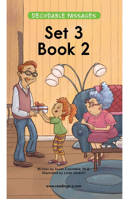 Book Preview For Decodable Passages Set 3 Book 2 Page 1