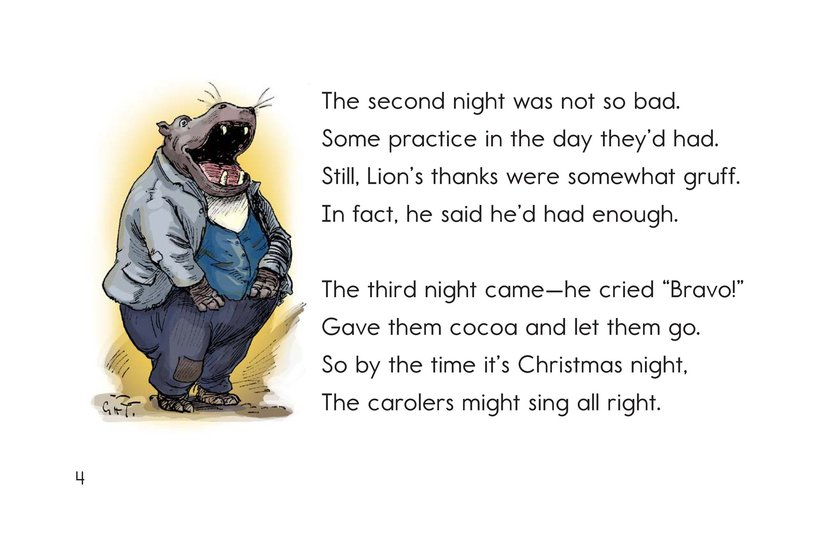 Book Preview For Christmas in Animal Land Page 4