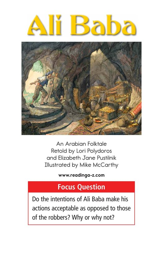 Book Preview For Ali Baba Page 1
