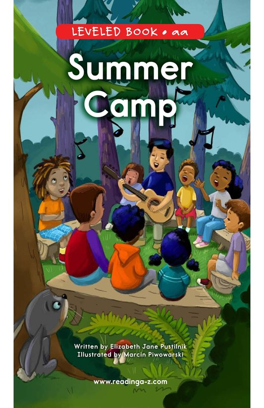 Book Preview For Summer Camp Page 0