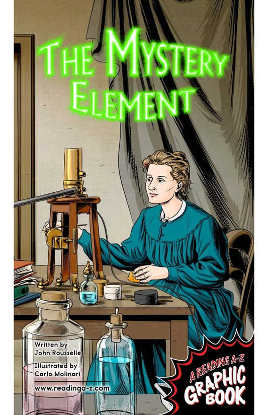 Book Preview For The Mystery Element Page 1
