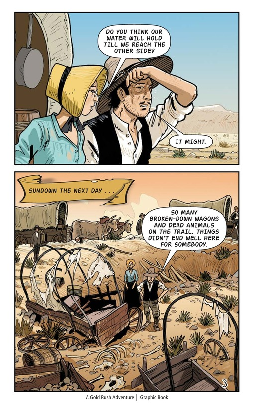 Book Preview For A Gold Rush Adventure Page 4