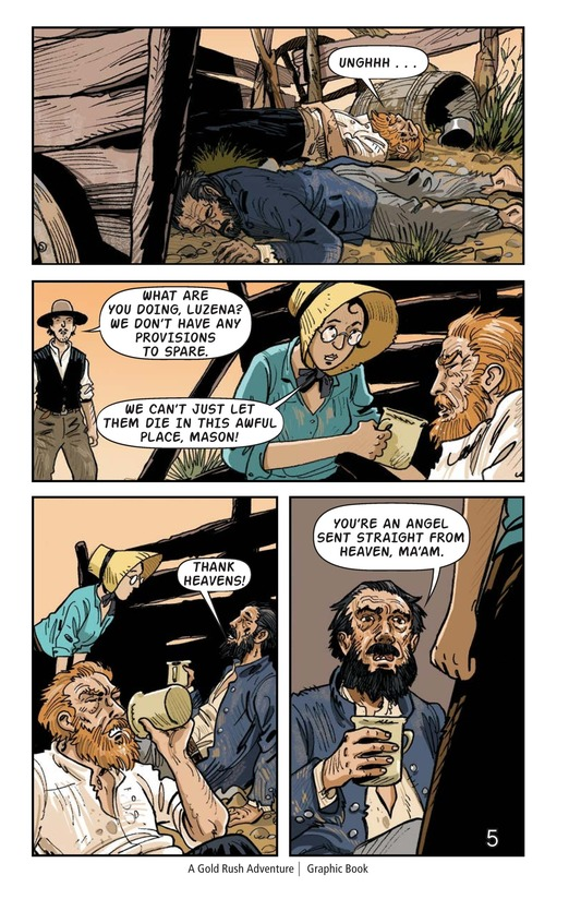 Book Preview For A Gold Rush Adventure Page 6