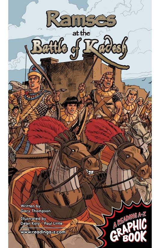 Book Preview For Ramses at the Battle of Kadesh Page 1