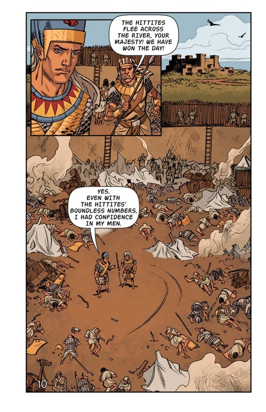 Book Preview For Ramses at the Battle of Kadesh Page 11