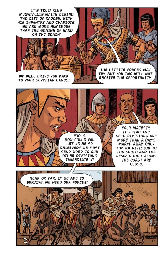 Book Preview For Ramses at the Battle of Kadesh Page 3