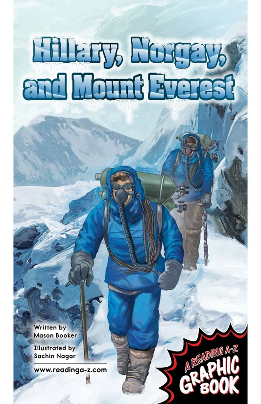 Book Preview For Hillary, Norgay, and Mount Everest Page 1
