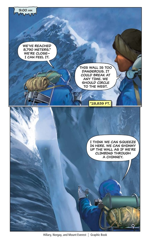 Book Preview For Hillary, Norgay, and Mount Everest Page 10