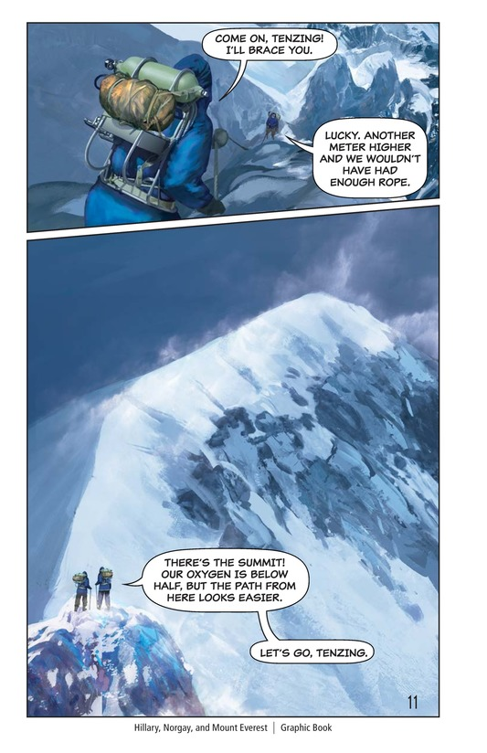 Book Preview For Hillary, Norgay, and Mount Everest Page 12