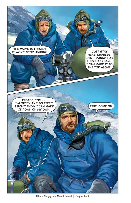 Book Preview For Hillary, Norgay, and Mount Everest Page 4