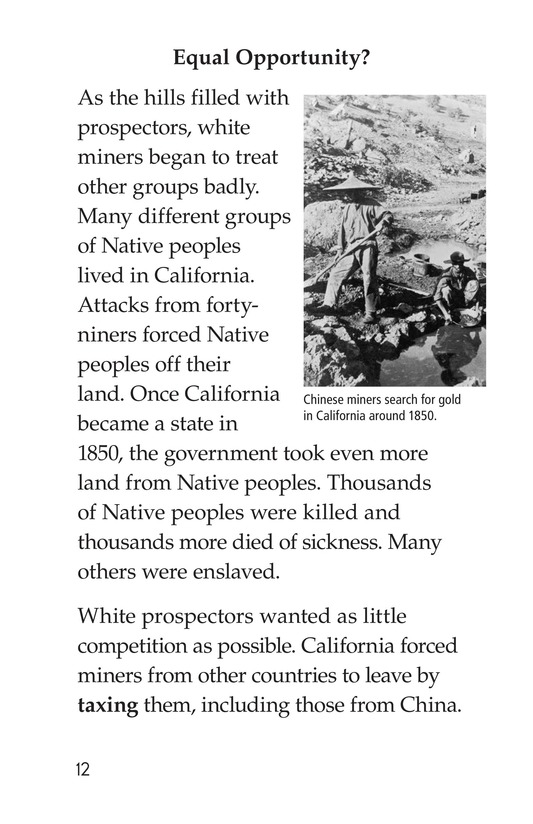 Book Preview For 1849: The California Gold Rush Page 12