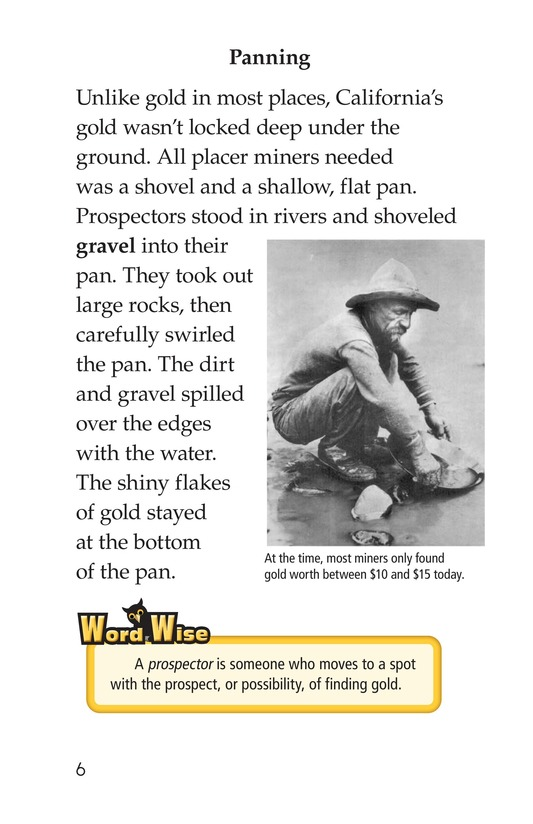 Book Preview For 1849: The California Gold Rush Page 6