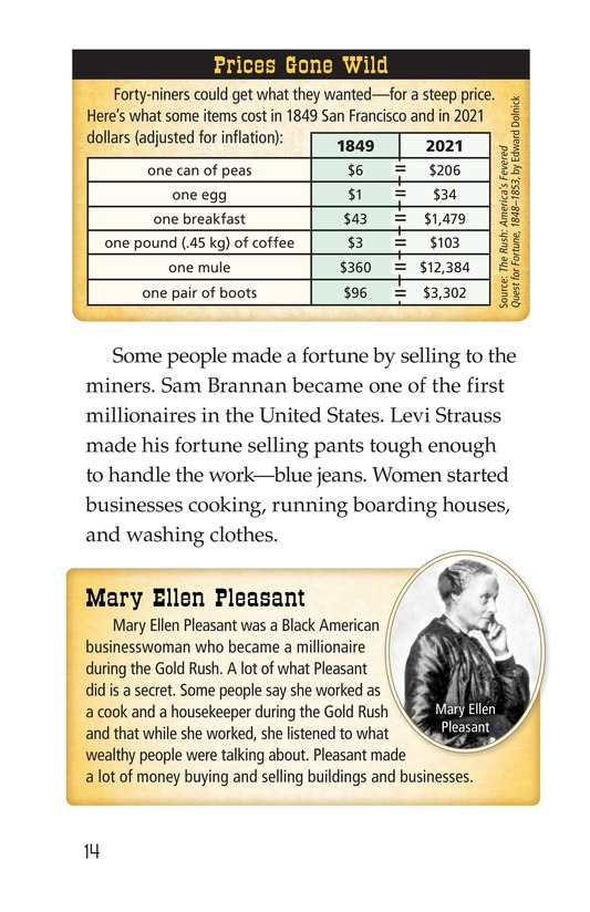 Book Preview For 1849: The California Gold Rush Page 14