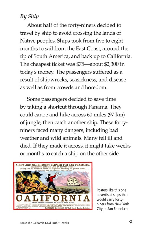 Book Preview For 1849: The California Gold Rush Page 9