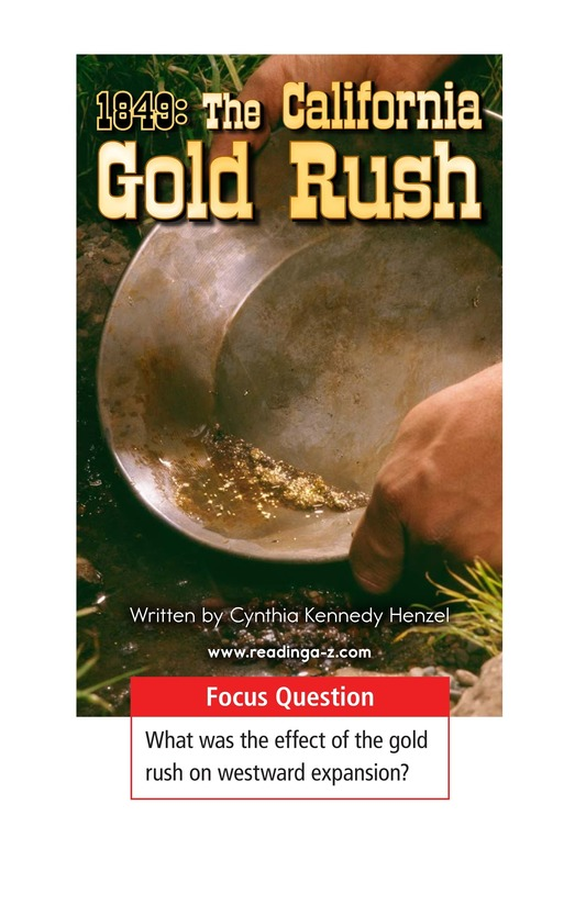 Book Preview For 1849: The California Gold Rush Page 1