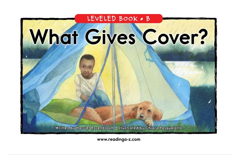Book Preview For What Gives Cover? Page 0