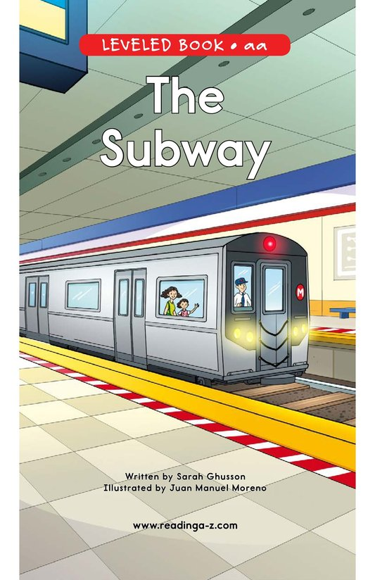 Book Preview For The Subway Page 0