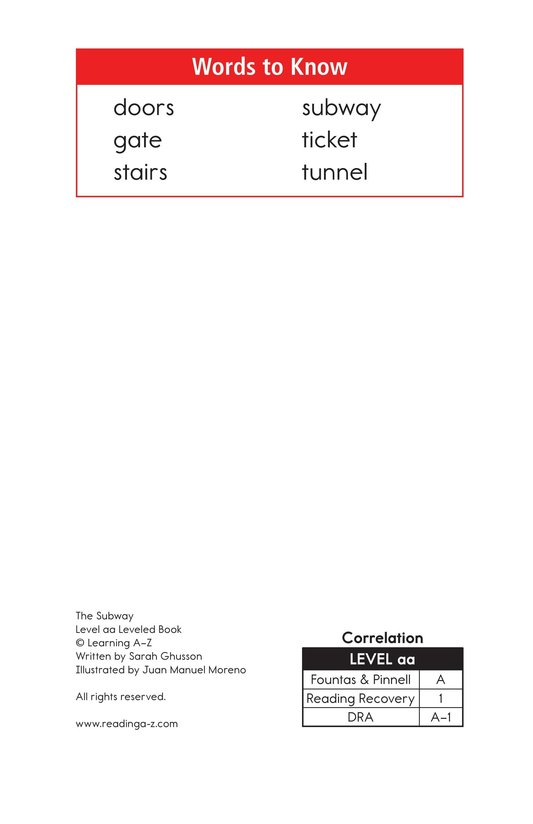 Book Preview For The Subway Page 2